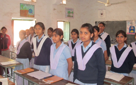GLI club partners with school in India to help girls learn