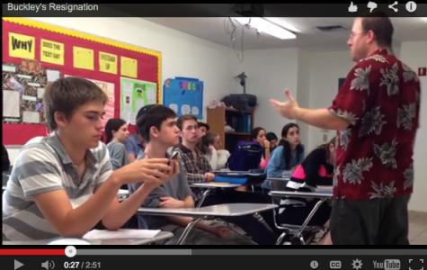 VIDEO: Mr. Buckley's resignation and Shalhevet career