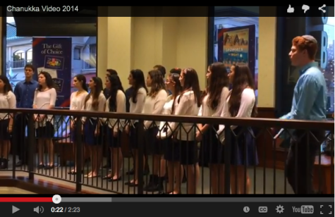VIDEO: Choirhawks performances on Channukah