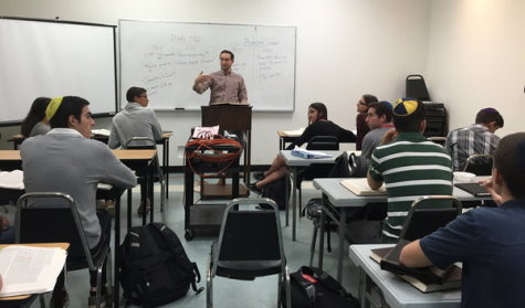 Students sign up  for extra Talmud,  no grades involved