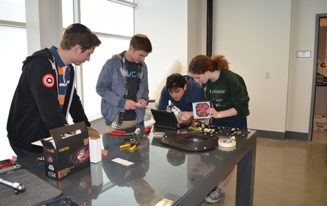 Junior transfer student spearheads first robotics team