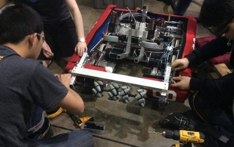 Robotics team takes top rookie honors in LA regional tournament