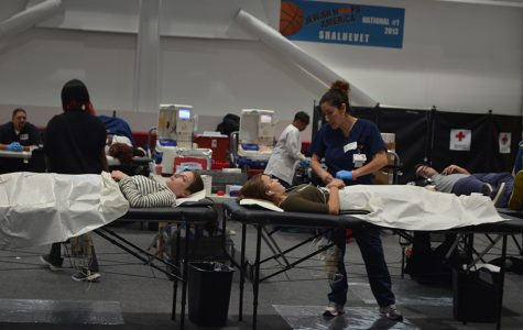 Record tally for annual blood drive