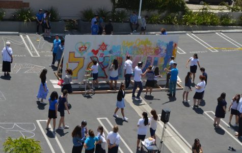 Spray paint, dancing and kavanah to celebrate Yom Haatzmaut