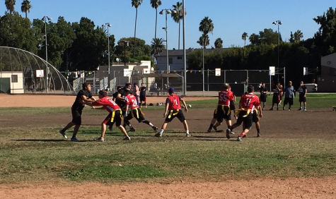 Boys Flag Football beats YULA to keep in-league undefeated streak alive