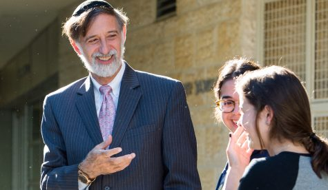 Rabbi Abraham Lieberman, outgoing head of YULA Girls High School, joining Shalhevet faculty next fall