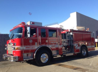 FIREHAWK: A fire truck arrived on campus around 8:45 Thursday morning.  The cause for the alarm is unknown, according to Executive Director Robyn Lewis.