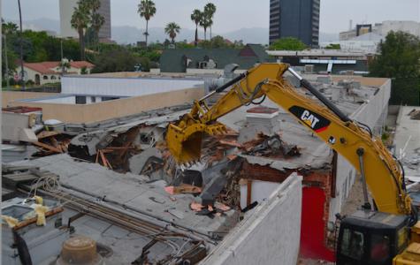 Demolition has begun