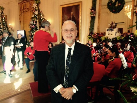 IMPRESSED: David Nimmer at the White House.  He was there when the Cuba deal was announced.