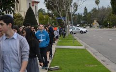 Three Jewish high schools join Shalhevet for march, group learning, community service to counter Westboro protest